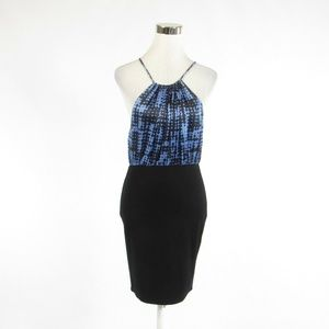 Alice & Trixie blue bodycon dress S
